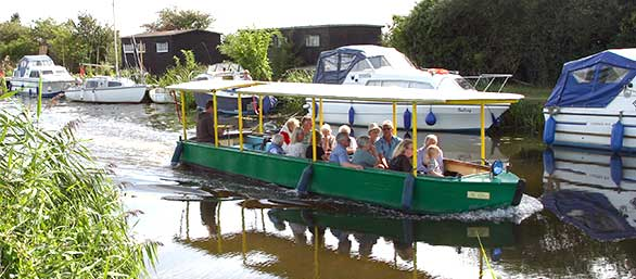 Boat trips from Heybridge Basin