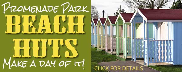 Hire a beach hut in the park